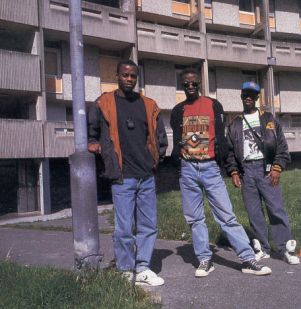 RRA on North Hulme Estate, 1990 - photo by Mr Jones